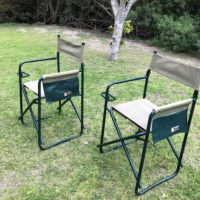 steel frame camping chair