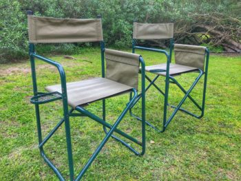 steel frame camping chairs