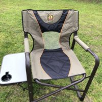rent a camping chair with sidetable