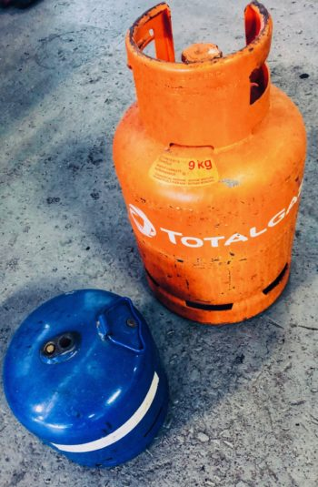 gas bottles to rent